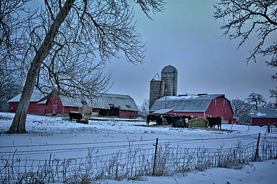 Photograph - Clarksville Winter by Bonfire Photography