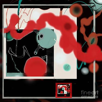 Digital Art - Clas Notes by Carol Jacobs