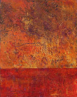 Painting - Clash by Chris Burton