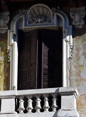 Photograph - Clasic Balcony by David Resnikoff