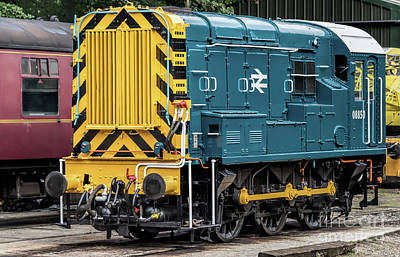 Photograph - Class 08 Shunter by David  Hollingworth