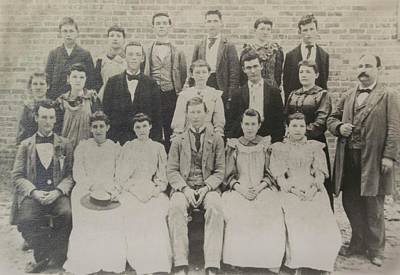 Photograph - Class Of 1894  by Jeanne May