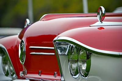 Photograph - Classic 50's Car by Dean Ferreira