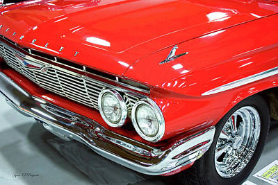 Photograph - Classic 61 Impala Car by Tyra OBryant