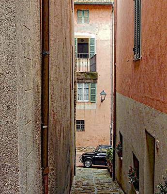 Photograph - Classic Alley View Paciano by Dorothy Berry-Lound