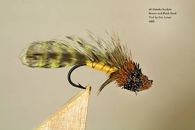 Fly Fishing Photograph - Classic Antique Trout Flies 3 by Buddy Mays
