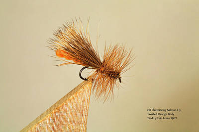 Fly Fishing Photograph - Classic Antique Trout Flies 4 by Buddy Mays