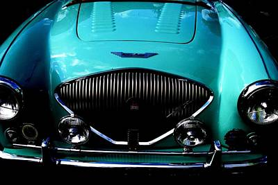 Photograph - Classic Austin Healey  by Angela Davies