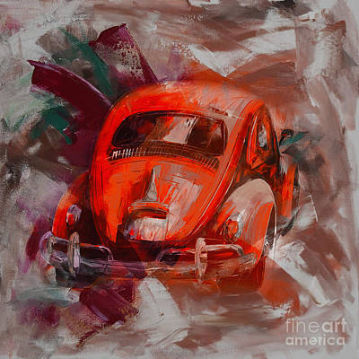 Painting - Classic Automobile  by Gull G