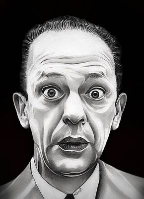 Don Knotts Drawing - Classic Barney Fife by Fred Larucci