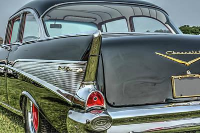 Automobile Photograph - Classic Bel Air by Irwin Seidman
