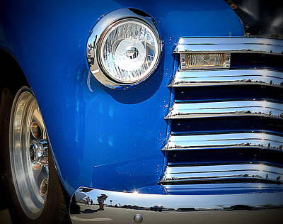 Photograph - Classic Blue Fender by Kimberly-Ann Talbert