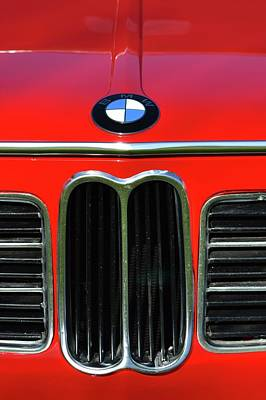 Photograph - Classic Bmw Detail by Dean Ferreira