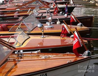 Classic Boats Art Print
