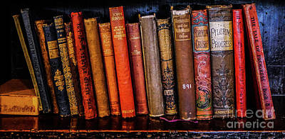 Photograph - Classic Books 1 by Lexa Harpell