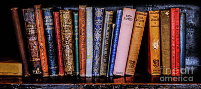 Photograph - Classic Books 2 by Lexa Harpell