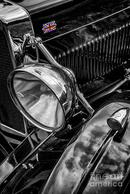 Photograph - Classic Britsh Mg by Adrian Evans