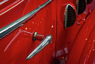 Photograph - Classic Buick Lasalle Details #2 by Stuart Litoff