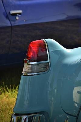 Photograph - Classic Cadillac Fin by Dean Ferreira