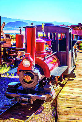 Narrow Gauge Engine Photograph - Classic Calico Train by Garry Gay
