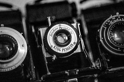 Photograph - Classic Cameras. by David Hare
