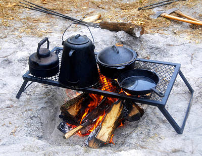 Photograph - Classic Camp Cooking by David Lee Thompson