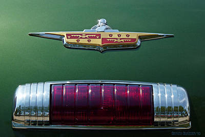 Glazier Photograph - Classic Car 1946 Desoto Crest by Garth Glazier