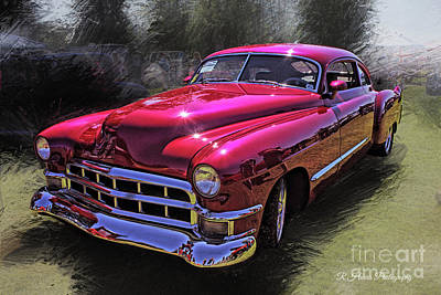 Keith Richards - Classic Car Classic Paint by Randy Harris