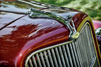 Photograph - Classic Car Detail by Ann Powell