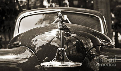 Classic Car Detail - Dodge 1948 Art Print