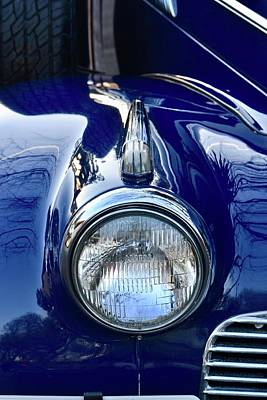 Photograph - Classic Car Fender by Dean Ferreira