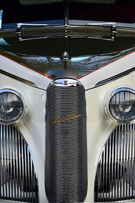 Photograph - Classic Car Front End by Dean Ferreira