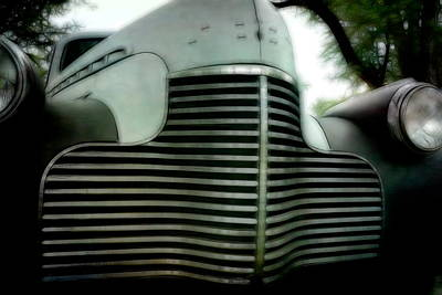 Photograph - Classic Car Grill Detal by Ann Powell