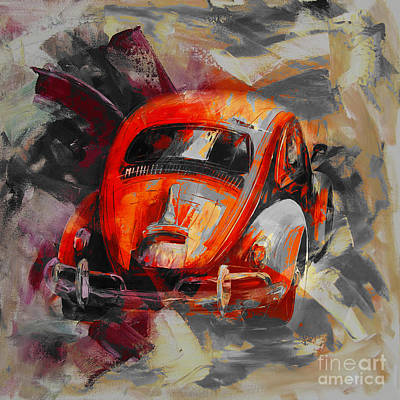 Painting - Classic Car  by Gull G