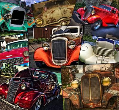 Photograph - Classic Car Heaven  by Thom Zehrfeld