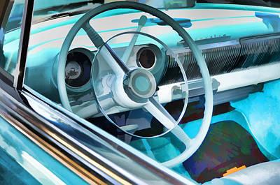 Classic Car Interior 9 Art Print