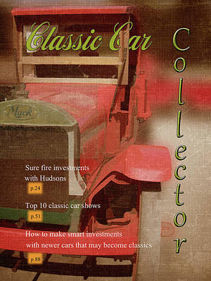 Photograph - Classic Car Magazine by Larry Bishop