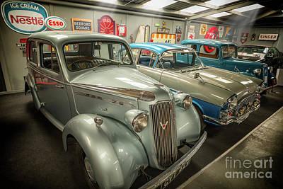 Classic Car Memorabilia Art Print