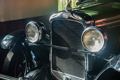 Photograph - Classic Car Museum, Asheville, Nc by Richard Goldman
