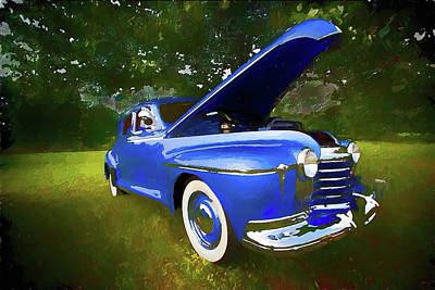 Painting - Classic Car Oldsmobile Ap by Dan Carmichael
