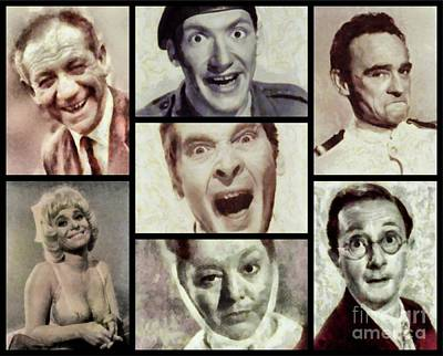 Classic Carry On Comedy Art Print