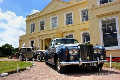 Photograph - Classic Cars At The Manor House by Vicki Spindler
