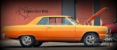 Photograph - Classic Cars Rule by Bobbee Rickard