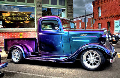 Photograph - Classic Chevrolet Pu Truck by Tyra OBryant