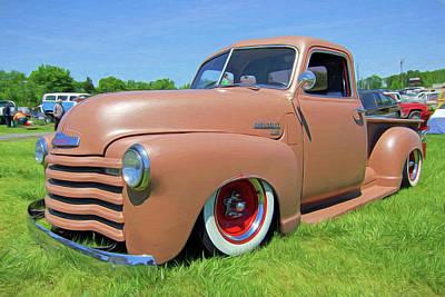 Classic Chevrolet Truck Art Print