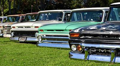 Photograph - Classic Chevy Pickups by Dean Ferreira