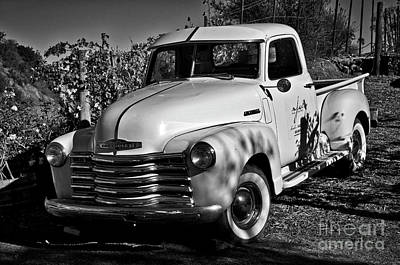 Photograph - Classic Chevy Truck by Kirt Tisdale