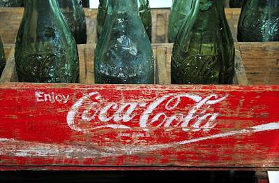 Antique Bottles Photograph - Classic Coke by David Lee Thompson
