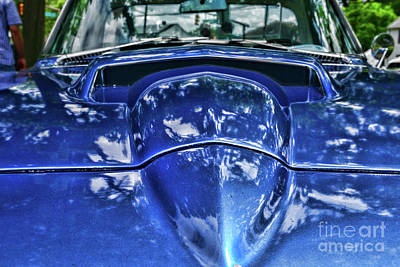 Photograph - Classic Corvette 1965 Stinger Hood Scoop by Paul Ward