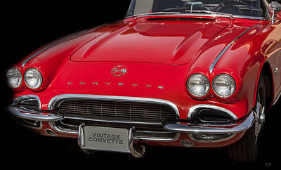 Photograph - Classic Corvette by David Millenheft